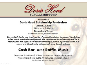 Doris Hood Memorial Scholarshop