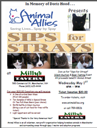 Sips for Strays 2013