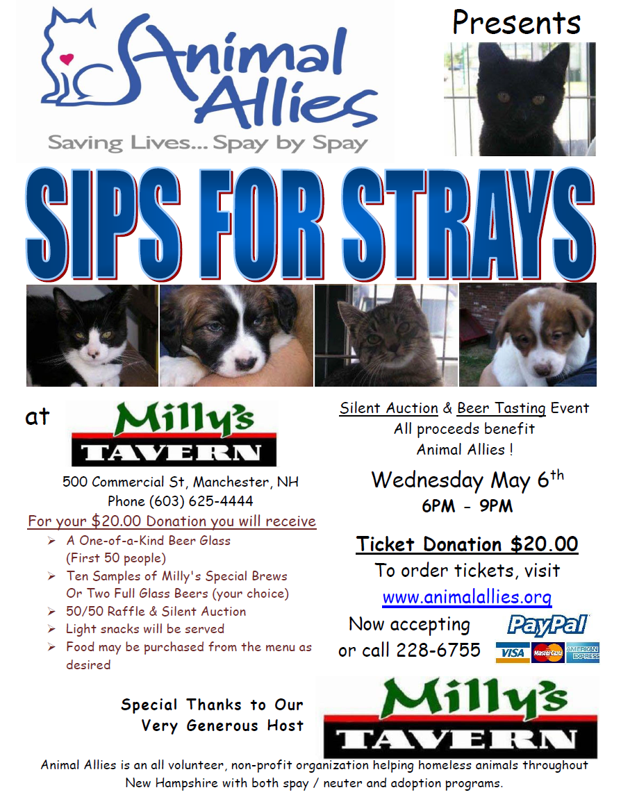 Sips for Strays 2015